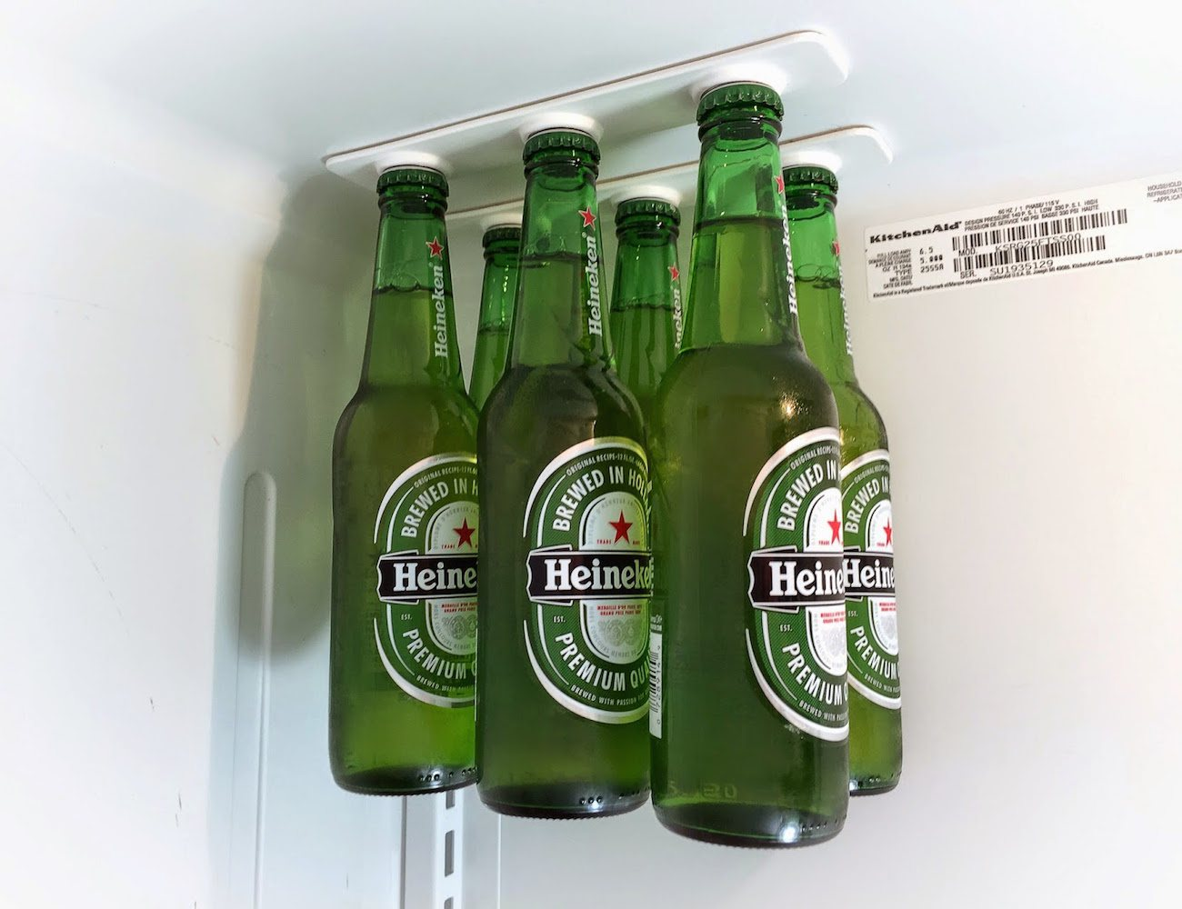 BottleLoft – Magnetic Bottle Hanger for Your Refrigerator