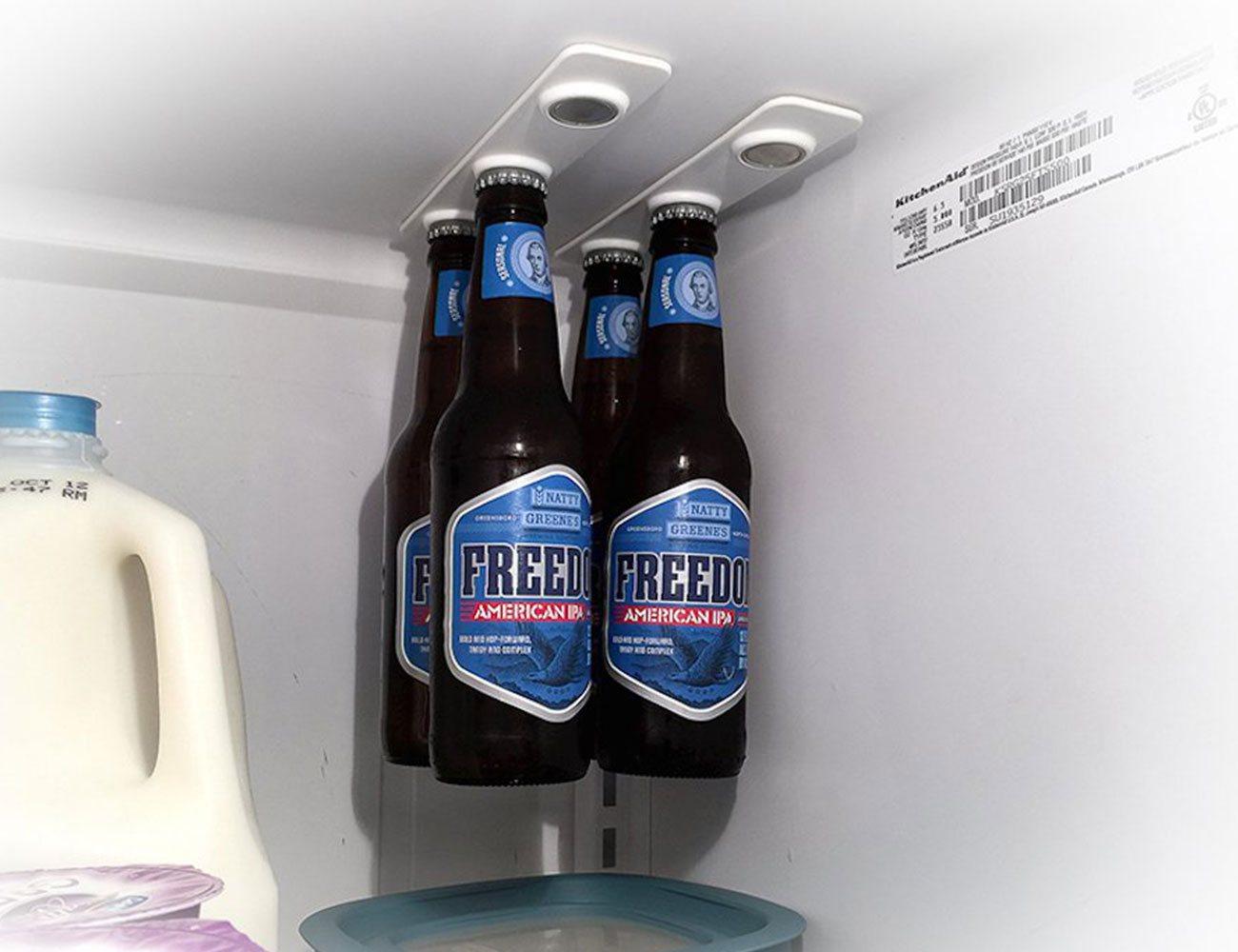 BottleLoft – Magnetic Bottle Hanger for Your Refrigerator
