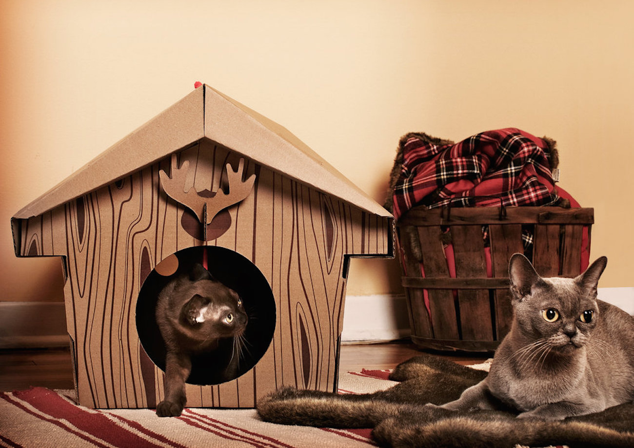 Canadian Cabin Cat House