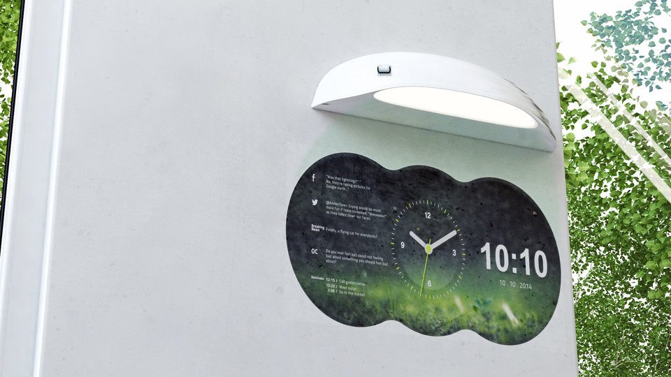 Coolest Clock – Unique Projection Clock You Can Personalize