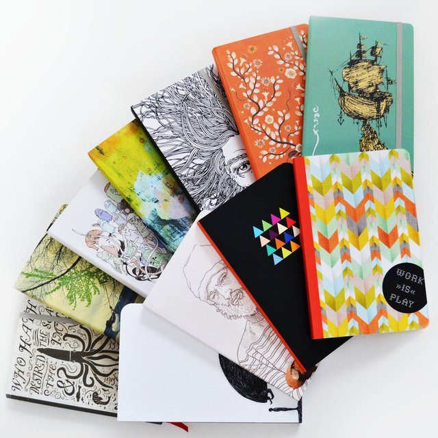 Denik Notebooks – 150 Pages of Acid Free, 75% Recycled Paper