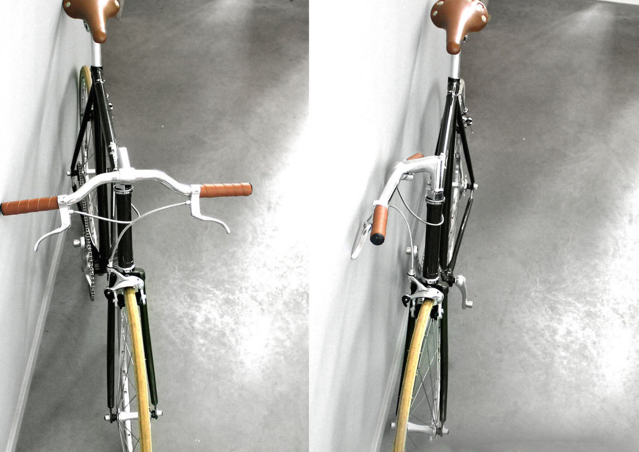 Flipcrown – A Useful Accessory That Makes Any Bike Fold Flat For Storage