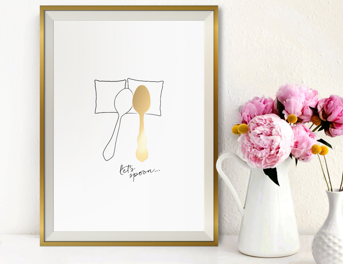 Gold+Spooning+Poster