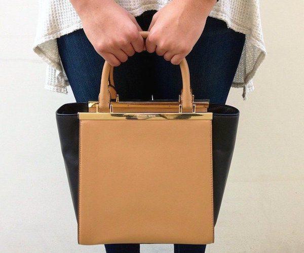 Lana Medium Leather Tote by MICHAEL Michael Kors