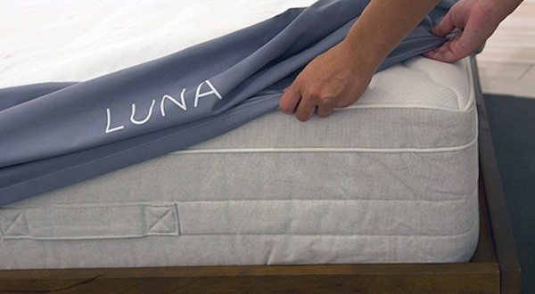 The Luna Mattress Cover Makes Your Bed Smart and Connected