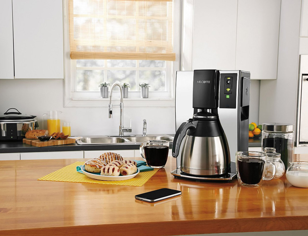 Mr. Coffee® Smart Optimal Brew™ Coffeemaker with WeMo®