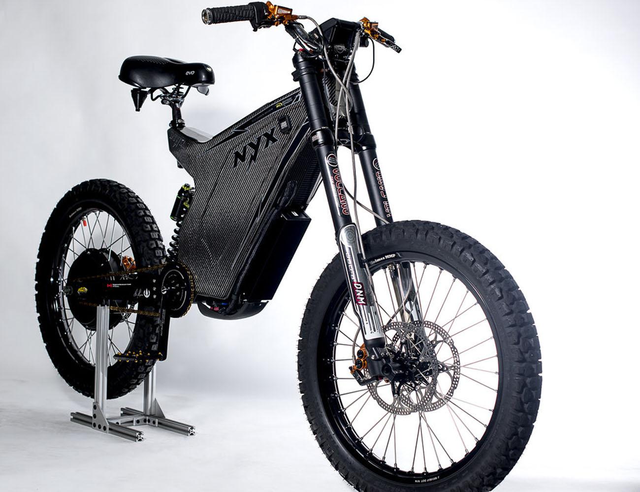NYX 2015 : The World\'s First Carbon Fiber E-Bike Frame Kit » Gadget Flow