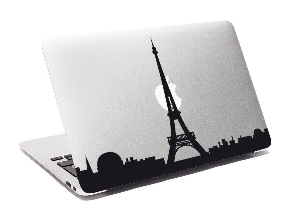 Paris in Love MacBook Decal