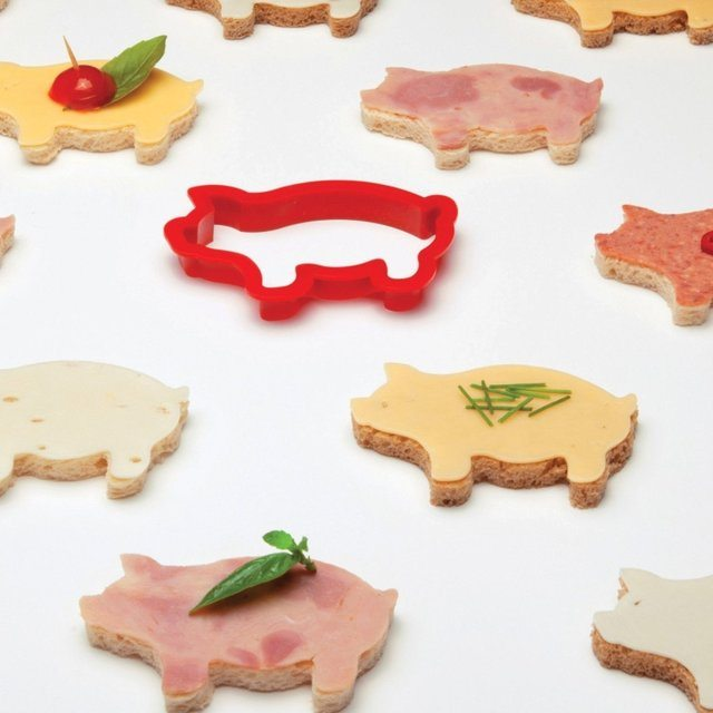 Party Animals Sandwich Cutters