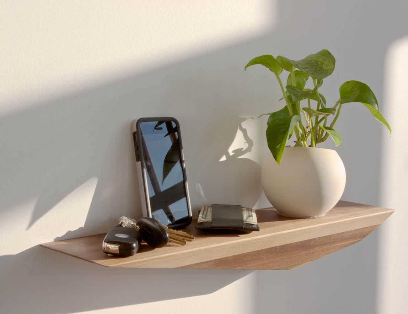 Peliships Floating Shelves by David Hsu Design