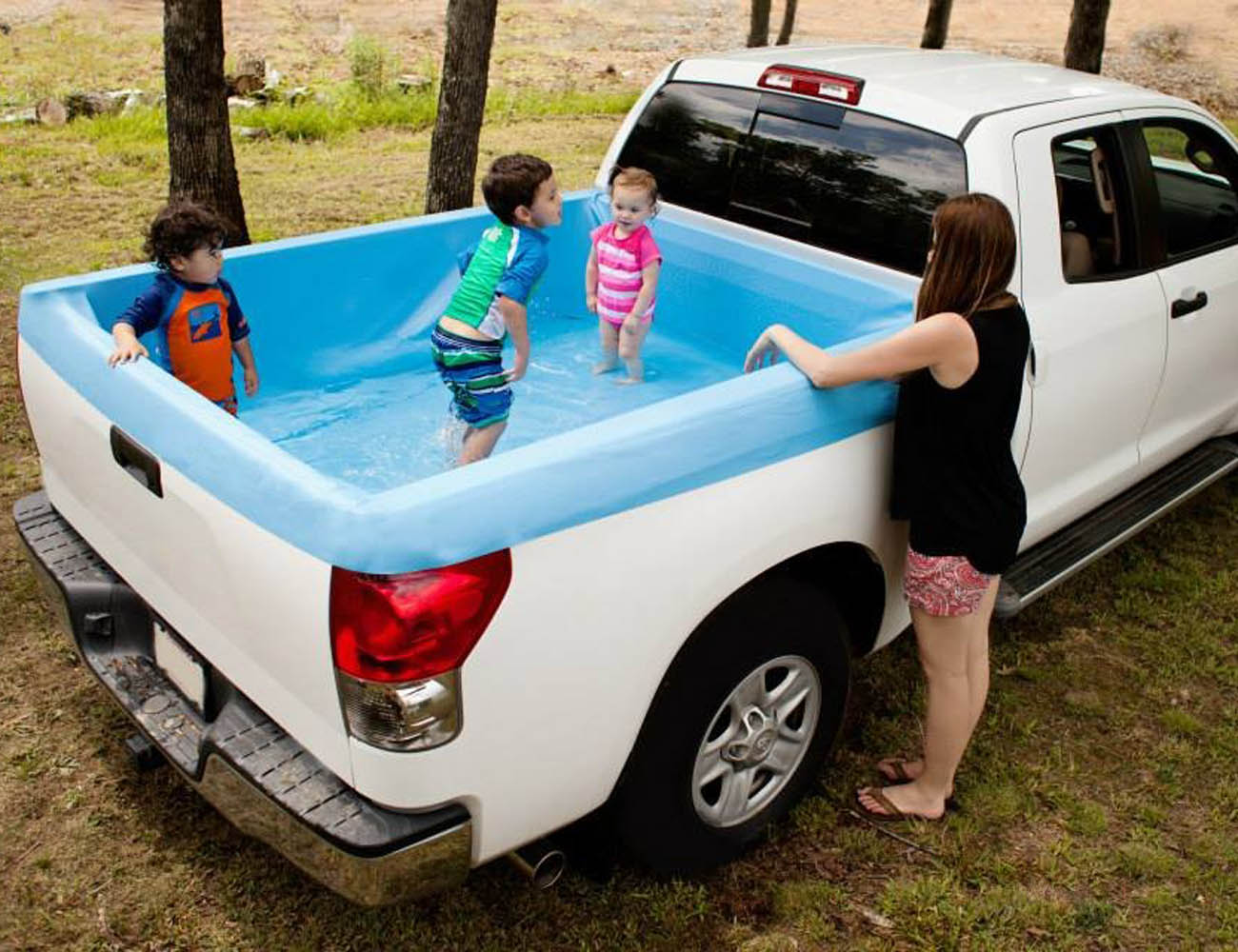 pickup pools a truck bed swimming pool gadget flow