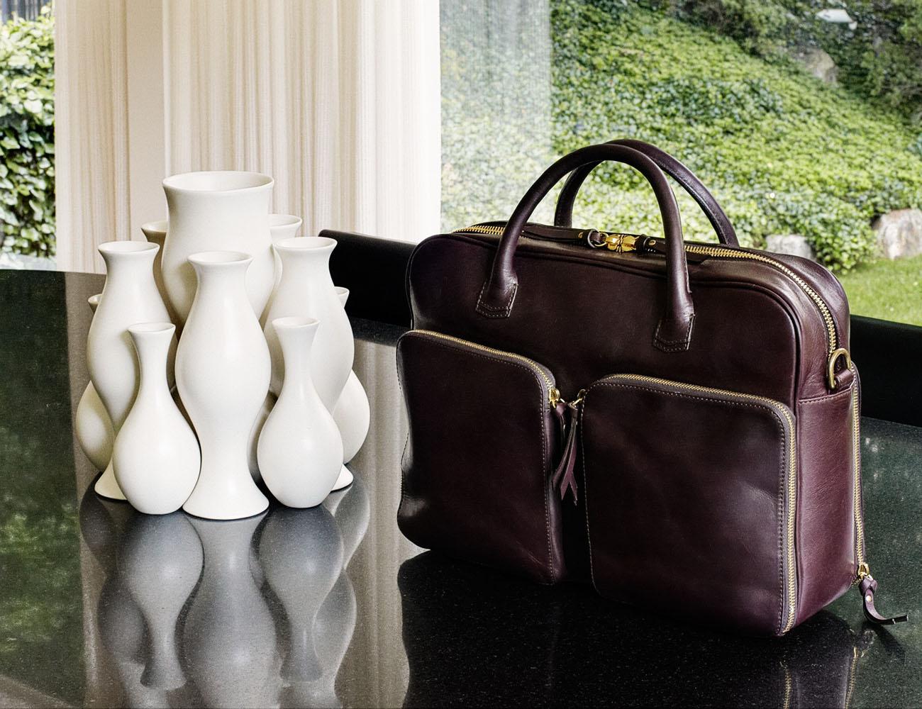 Portage Briefcase by Libero Ferrero
