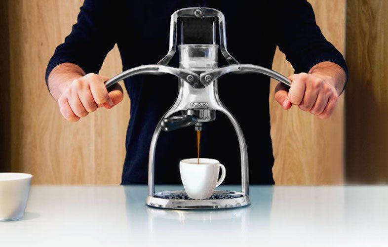ROK Espresso Maker – With a Manual, Non-Electric Design