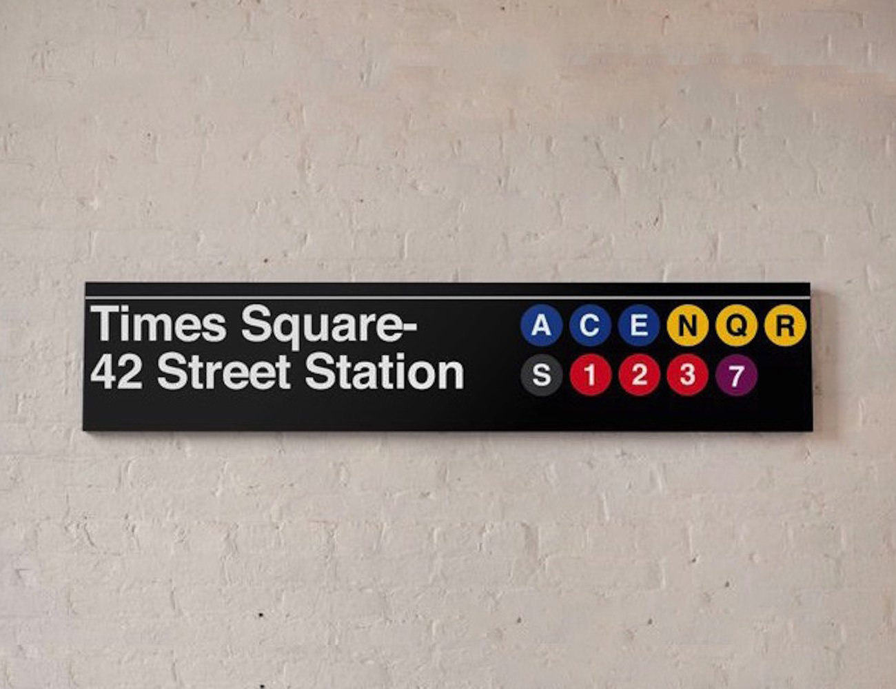 Times Square – 42 Street MTA Sign