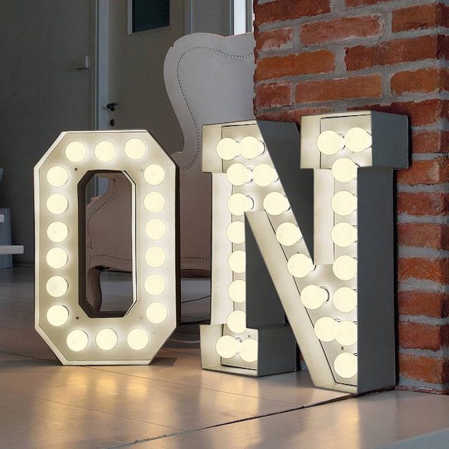 Vegaz Lights – Alphabet Shaped Lights