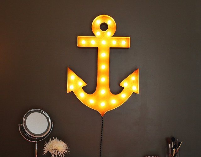 Vintage Marquee Lights-30″ Anchor