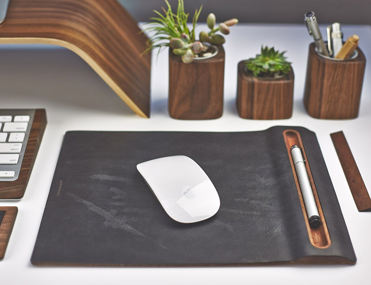 Walnut Mouse Pad by Grovemade
