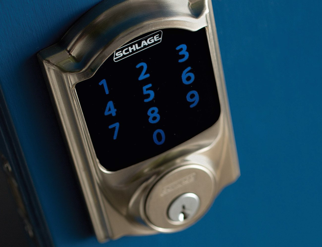 Wink Schlage Connect Camelot Touchscreen Deadbolt