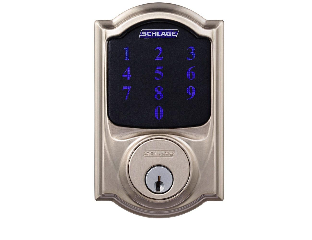 Wink Schlage Connect Camelot Touchscreen Deadbolt