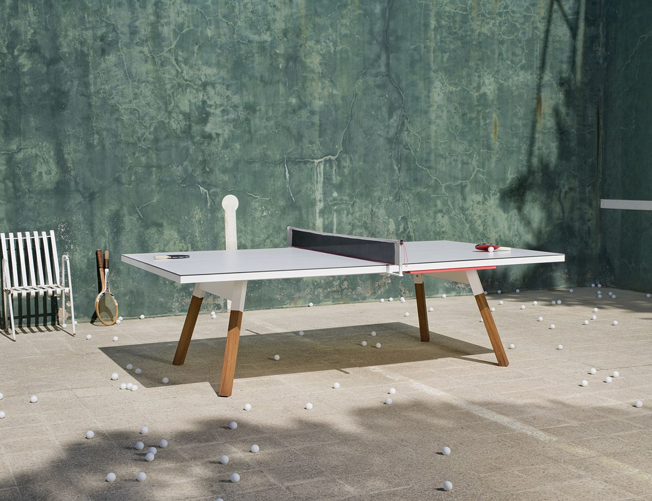 You And Me Ping Pong Table U2013 Works As A Dining Table Too ...