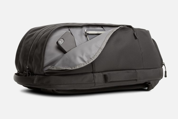 Aer Duffel side pocket