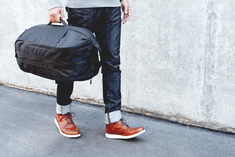 Aer Duffel as a duffle