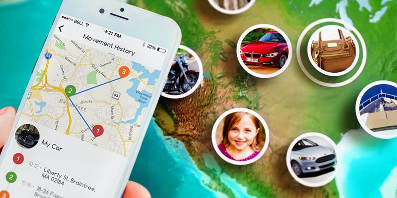 Find your lost items with iTraq