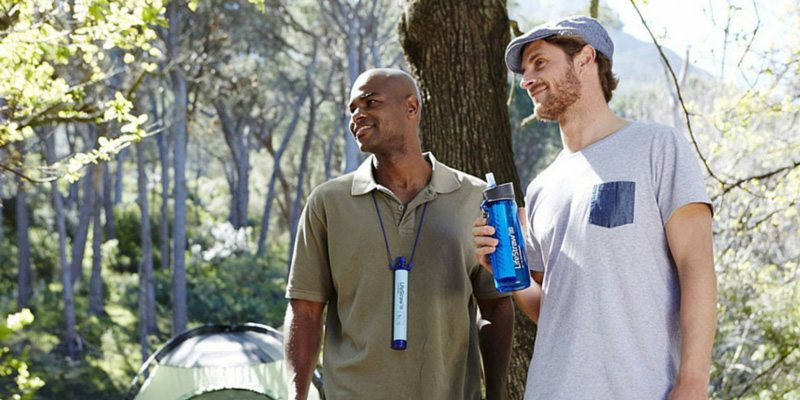 Lifestraw Go water bottle for camping