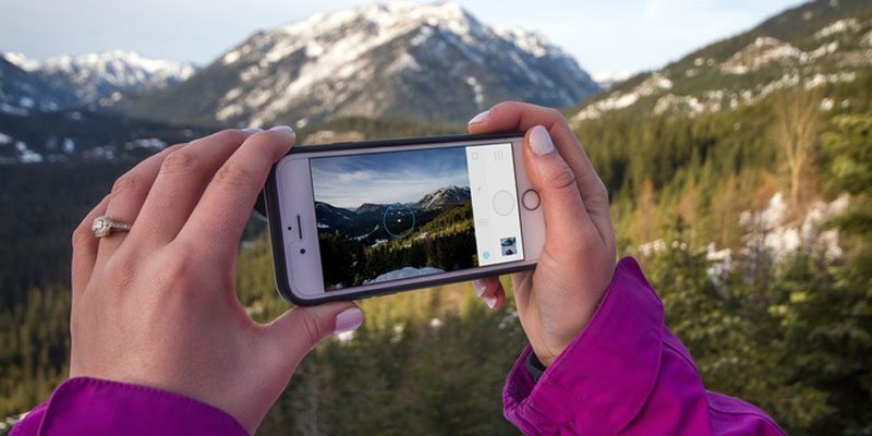 Moment case for mobile photography