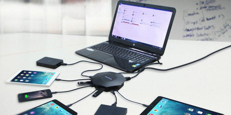 OctoFire 8 Port USB 3.0 Hub fastest charging solution