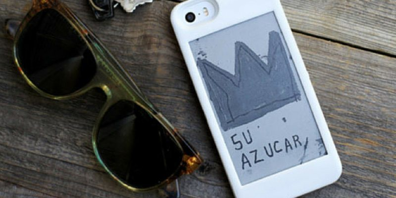 popslate gives your iphone a second e-ink display