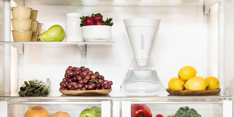 soma glass water filter