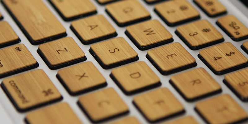 Wood Keys For Macbook & Apple Keyboard