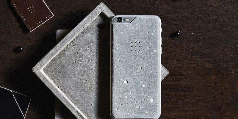 Luna iPhone 6 Concrete Skin