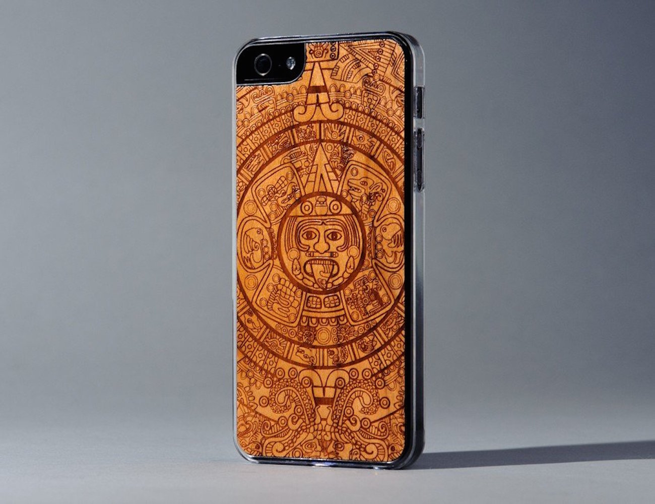 Aztec Calendar iPhone SE/5s Case by Carved
