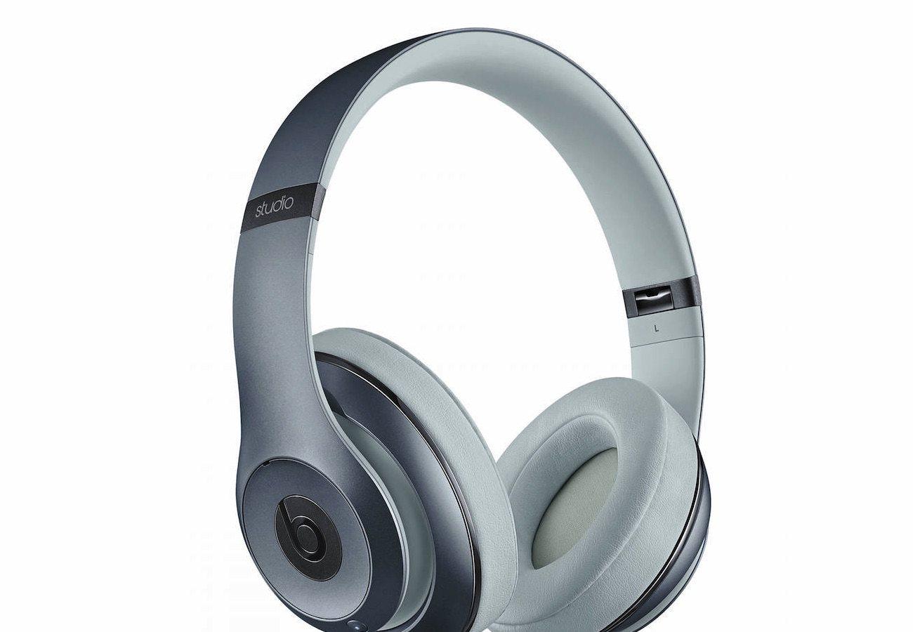 beats by dre metallic sky studio wireless headphones. Black Bedroom Furniture Sets. Home Design Ideas