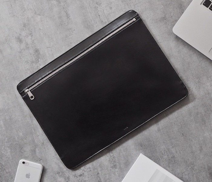 Black+Document+Case+By+A.P.C.