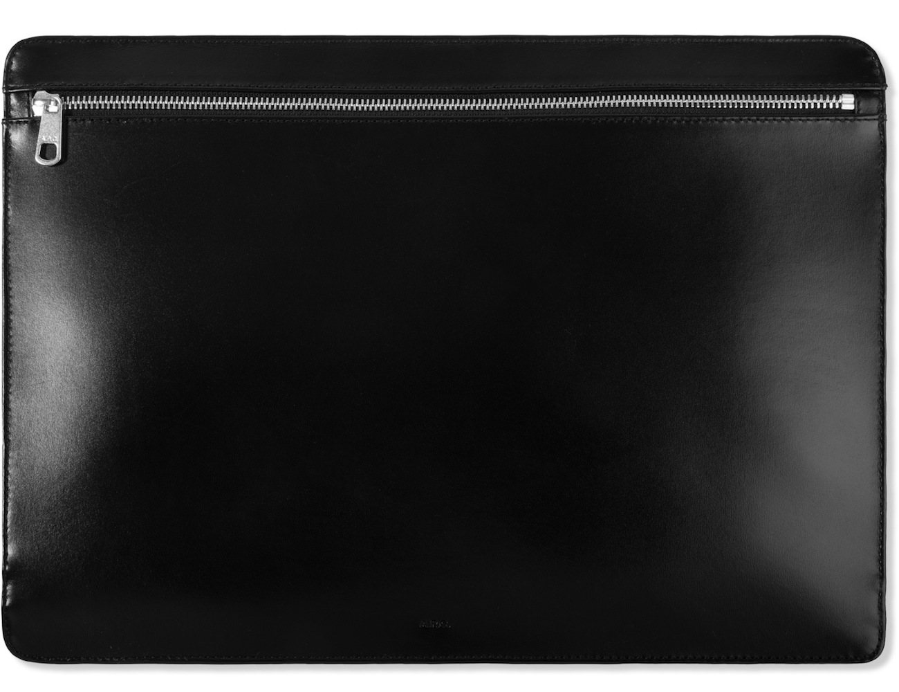 Black Document Case by A.P.C.