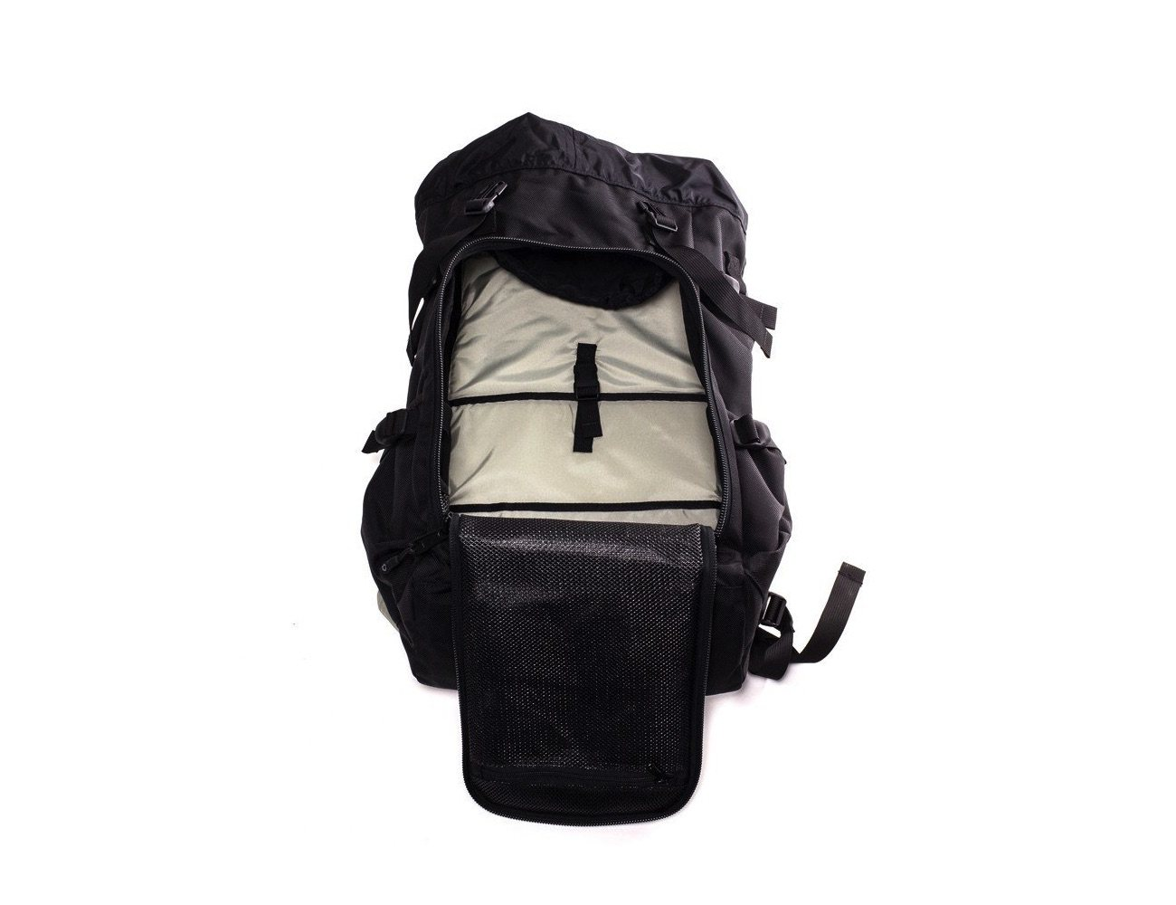 Black Utility Backpack by DSPTCH