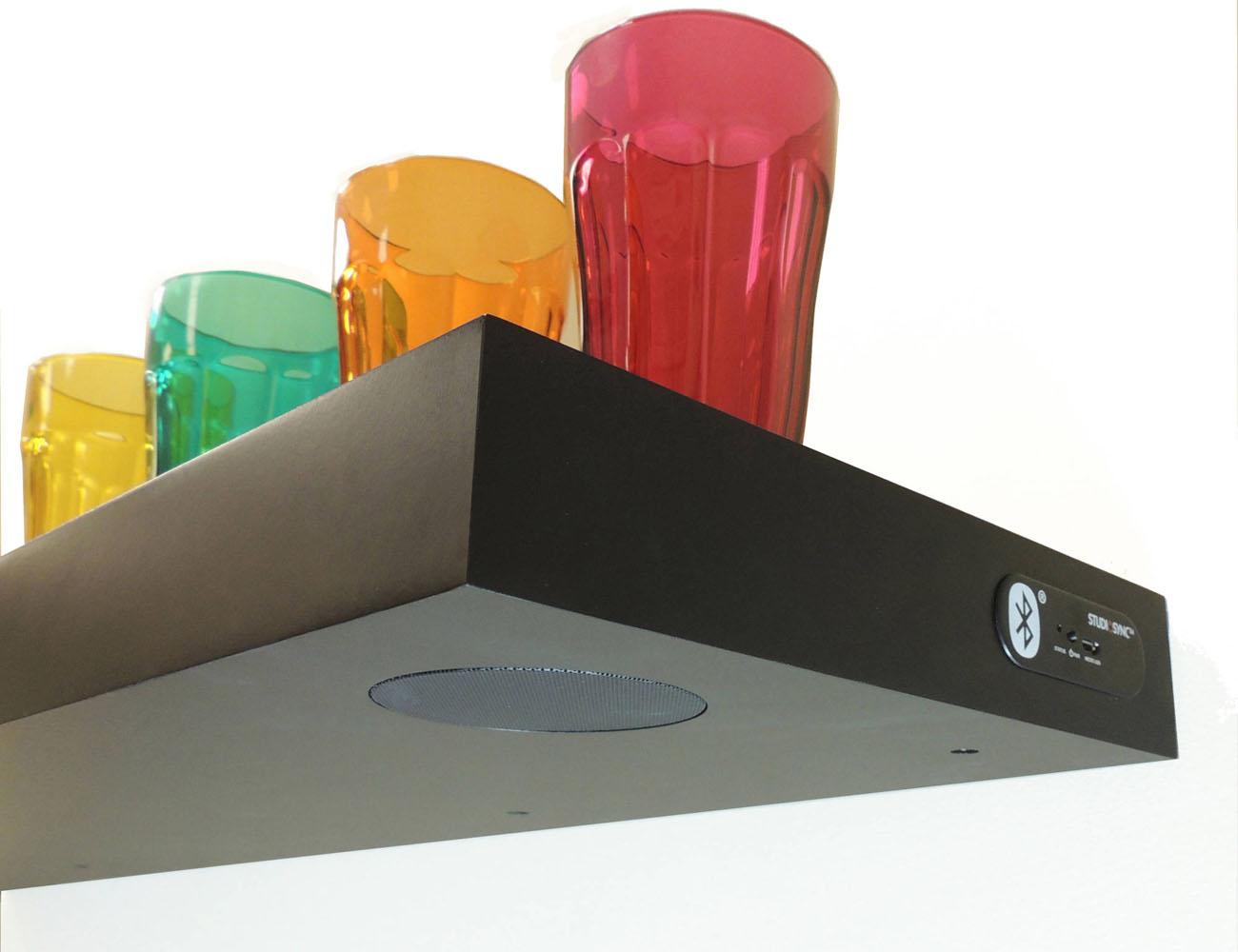 Bluetooth Speaker Shelf