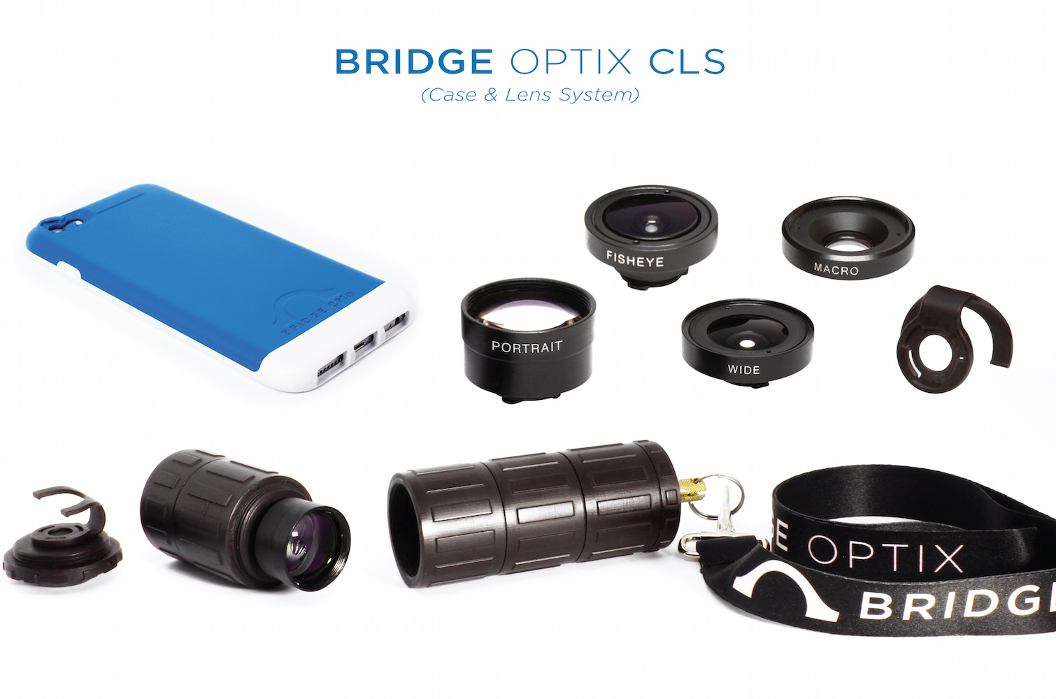 Bridge Optix Case and Lens System for iPhone 6 & 6 Plus