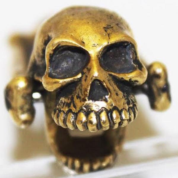 Bronze Skull Bottle Opener by Jac Zagoory