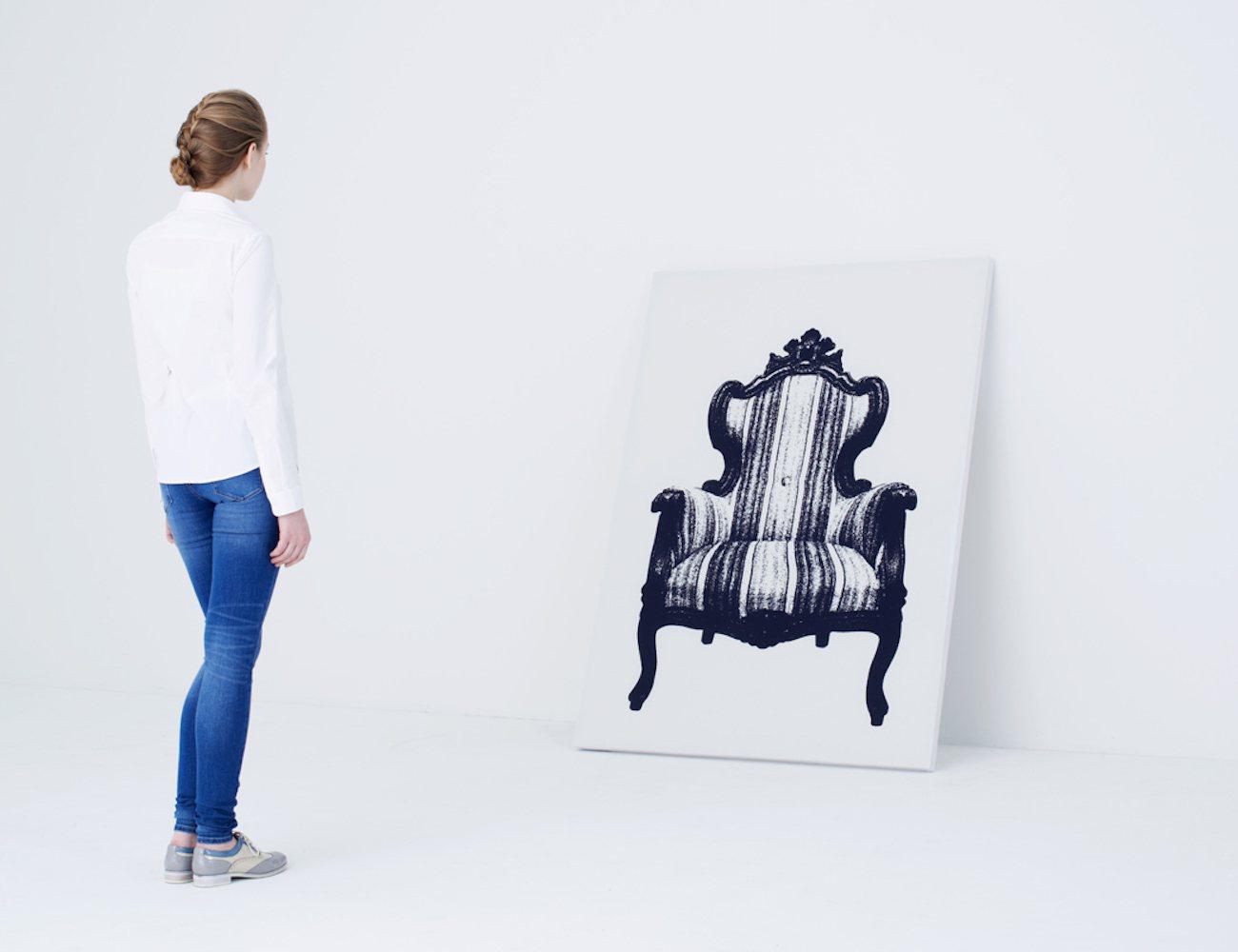 Canvas Armchair