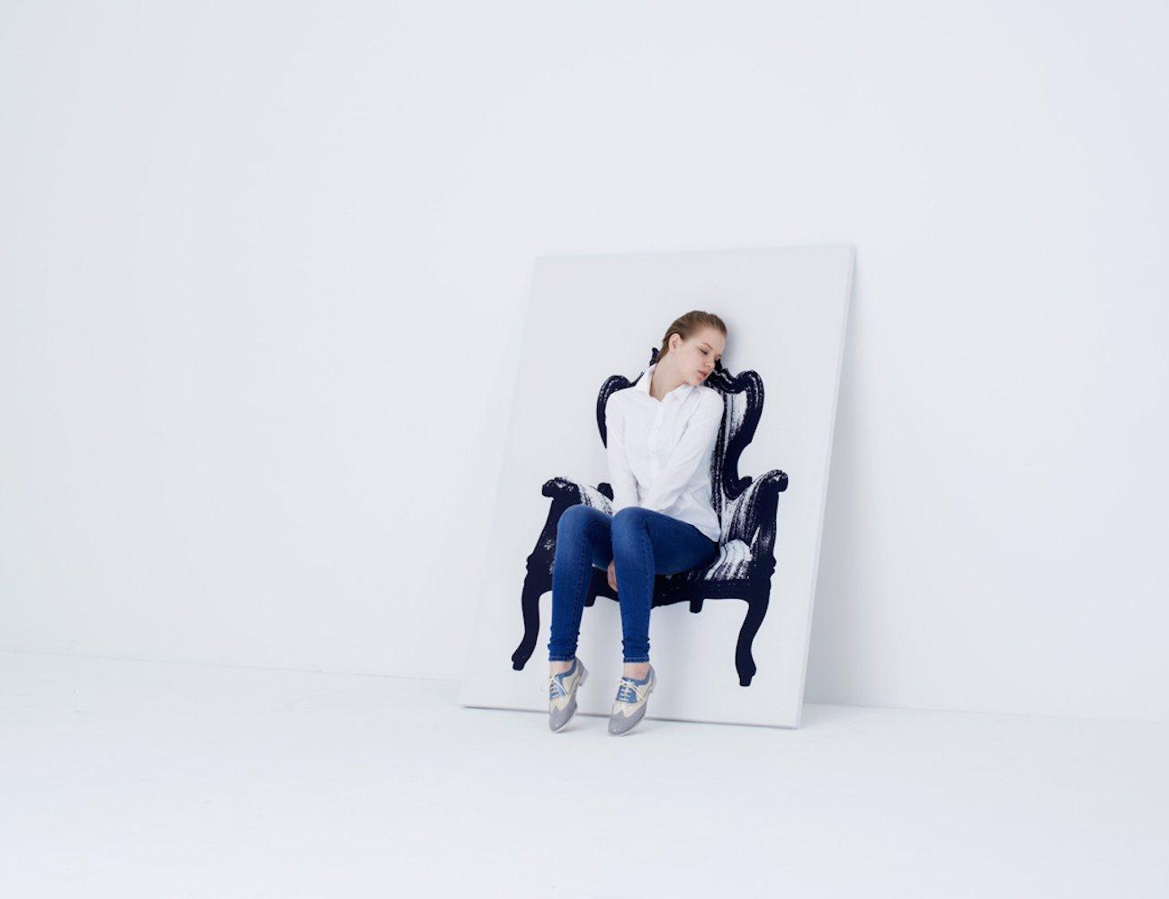 Canvas+Armchair