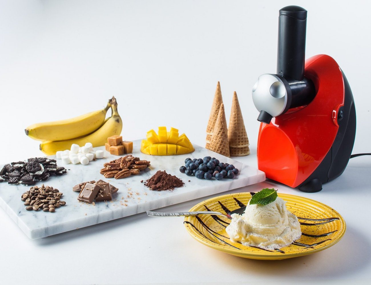 Chef's Star Frozen Yogurt & Dessert Maker