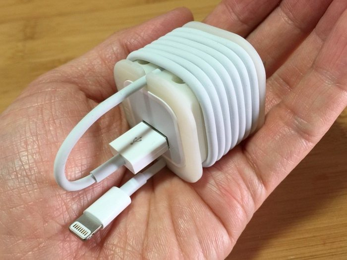 Cubecord+%26%238211%3B+Compact+And+Stylish+IPhone+Charger+Cord+Solution