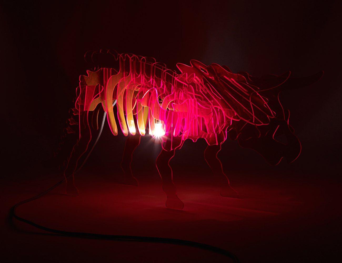 Dino Light A New Kind Of Modern Lamp 187 Gadget Flow