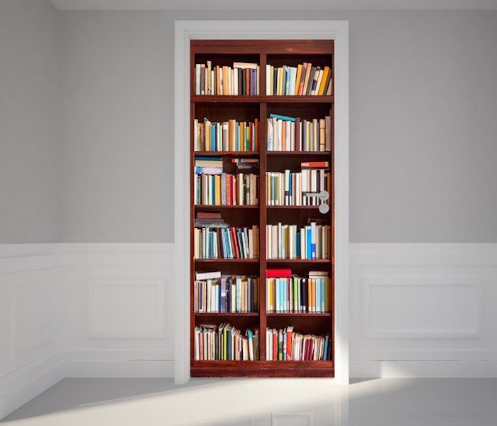 door wall sticker bookshelf review the gadget flow