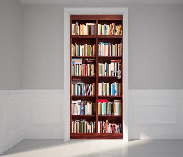 Door+Wall+Sticker+Bookshelf