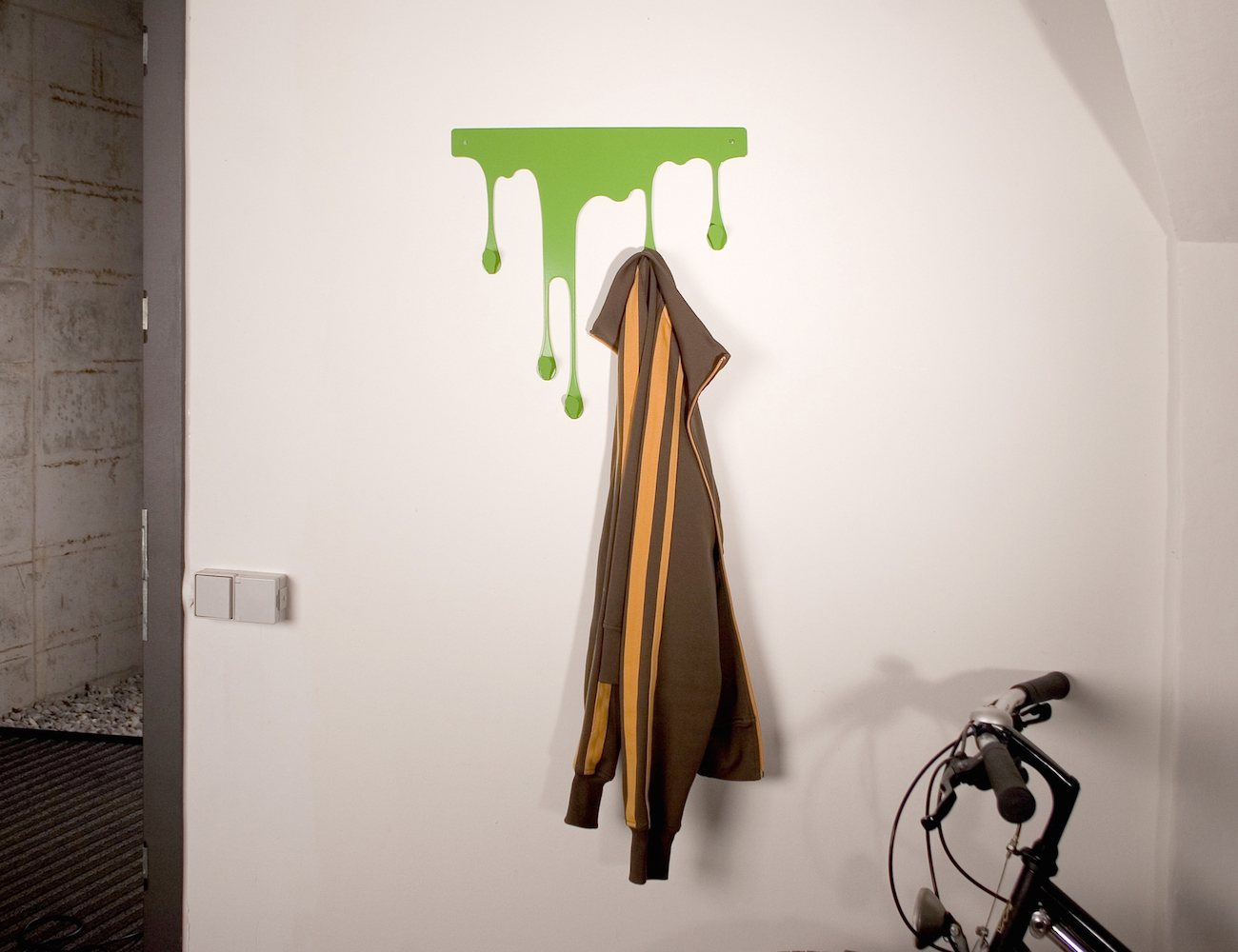 drop l coat rack u2013 self adhesive wall hook